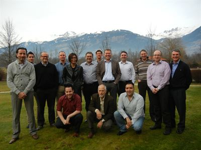 Candidates on CESA's first mainland Europe CFSP course in Austria, January 2013
