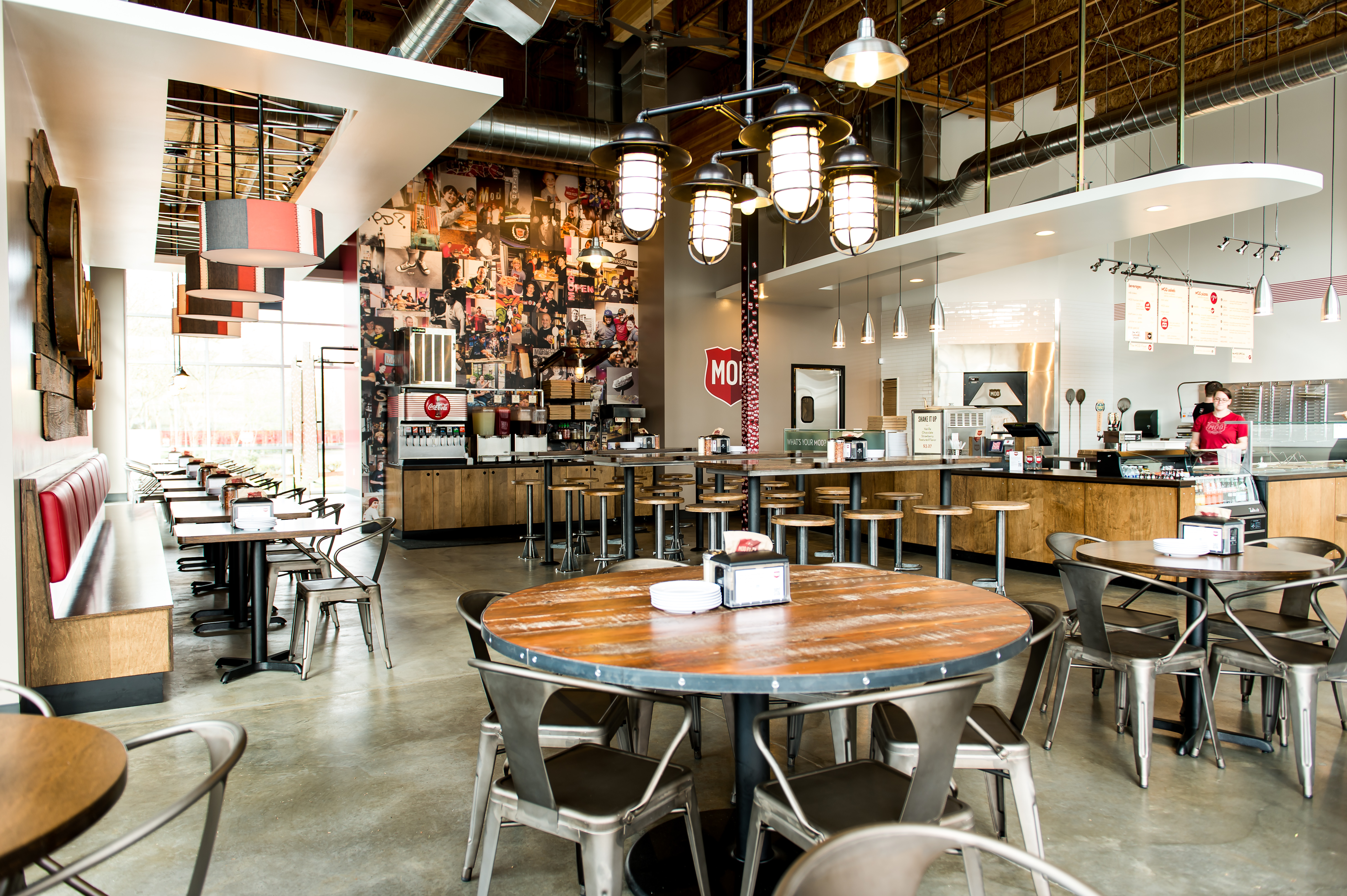 Mod pizza interior limelight partners