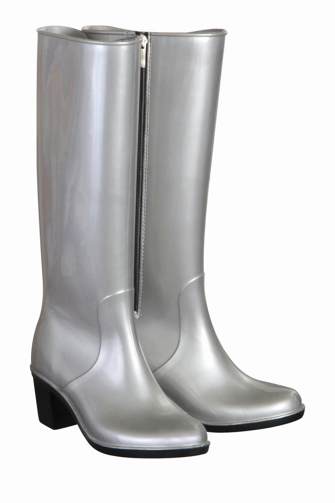 high heel boots silver briers ltd