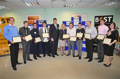 B ES Scotland Award Winners Runners Up