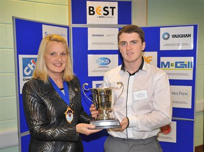 Liam Dean is Scottish Craft Apprentice of the Year