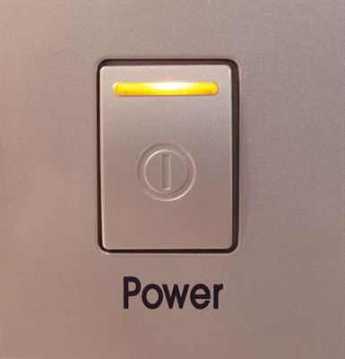 Appliance Power Button