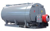 The new Fulton FB-C Firetube Steam Boiler