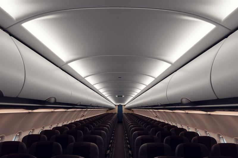 SAS A320neo ny kabin mood light 3