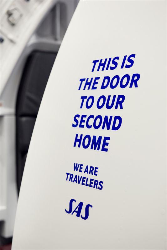 SAS A320neo entre