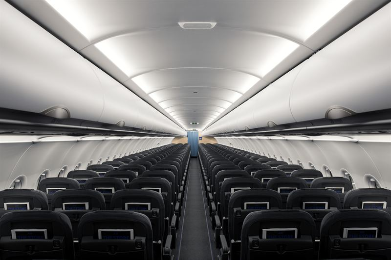 SAS A320neo ny kabin mood light 5