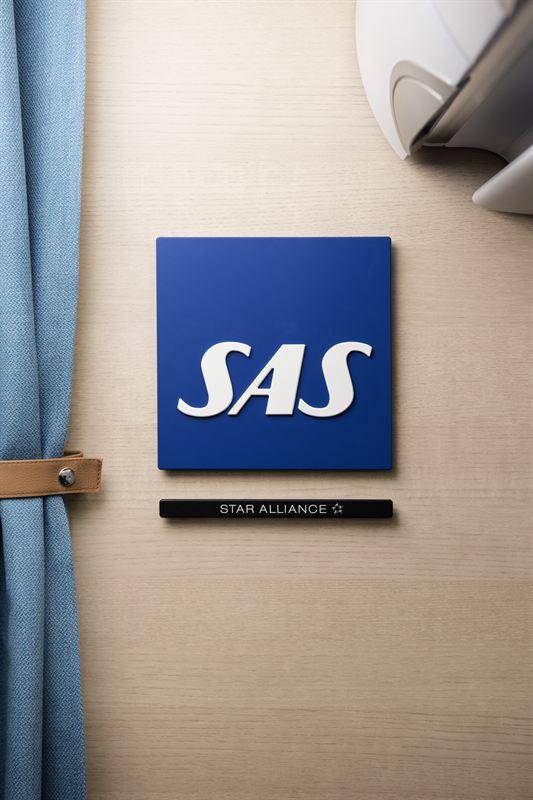 SAS A320neo ny kabin