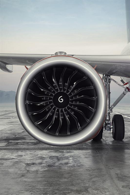 SAS A320neo motor