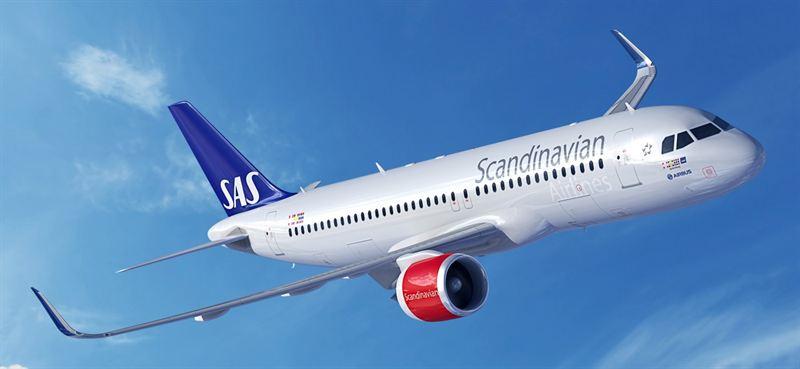 SAS Airbus A320neo med 15 18 lägre bränsleförbrukning
