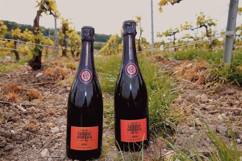 Charles Hiedsieck Rose Vintage Champagne