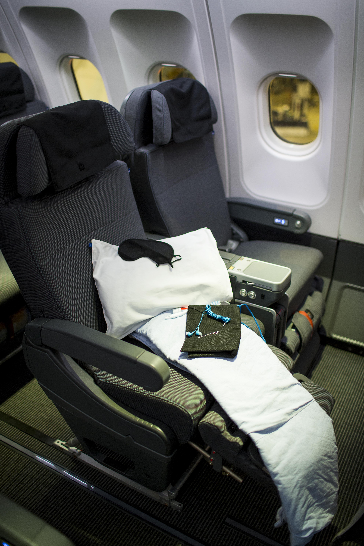 sas premium economy seat recline