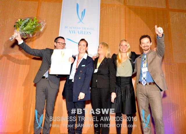 SAS Business Travel Awards