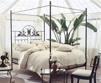 Iron Moon Harvest Canopy Bed