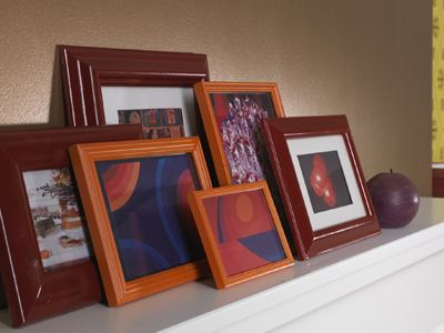 Revamp And Recycle Old Picture Frames With Spray Paint Rust Oleum