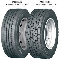 Michelin X MultiWay 3D XZE and XDE