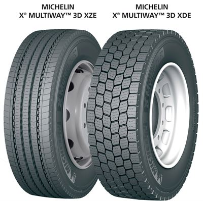 Michelin X MultiWay 3D XZE and XDE - Michelin Truck