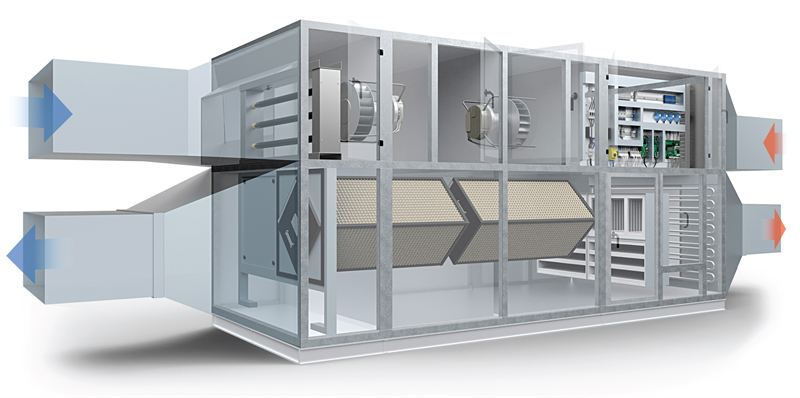 New Air Handling Unit Delivers Added Benefits As Standard
