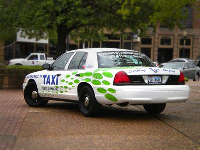 Propane autogas taxi in Tyler, Texas