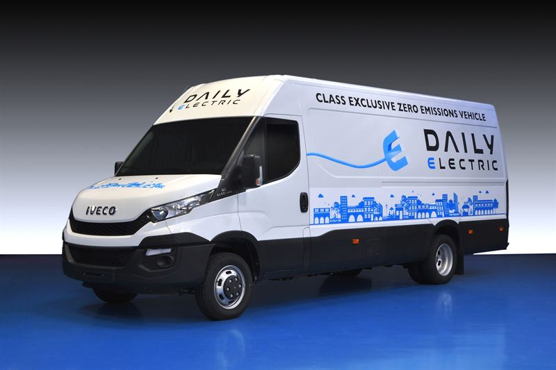 iveco presents the new daily electric iveco rh news cision com Old Cars Iveco Daily Old Cars Iveco Daily