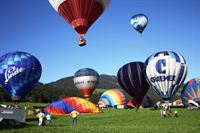 Balloon festival in Kirchberg