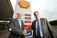 Shell Kennford handshake