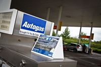 Autogas dispenser