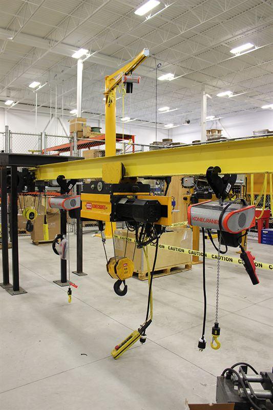 Overhead Crane Training Middlesbrough : Canada technical training center konecranes inc