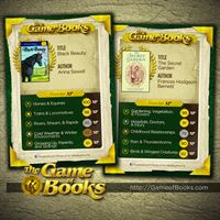 The Game of Books Digital Game Cards