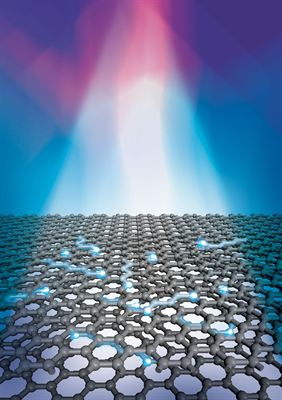 UMD graphene photodector illustration