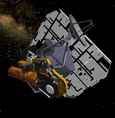 Deep Impact spacecraft artist rendering