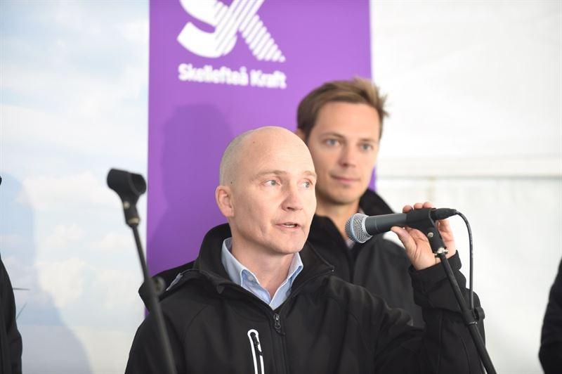 Tuomo Sinisalmi, chef för konstruktion och drift vind, Fortum