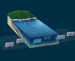 WaveRoller-wave-energy-farm-under-water1