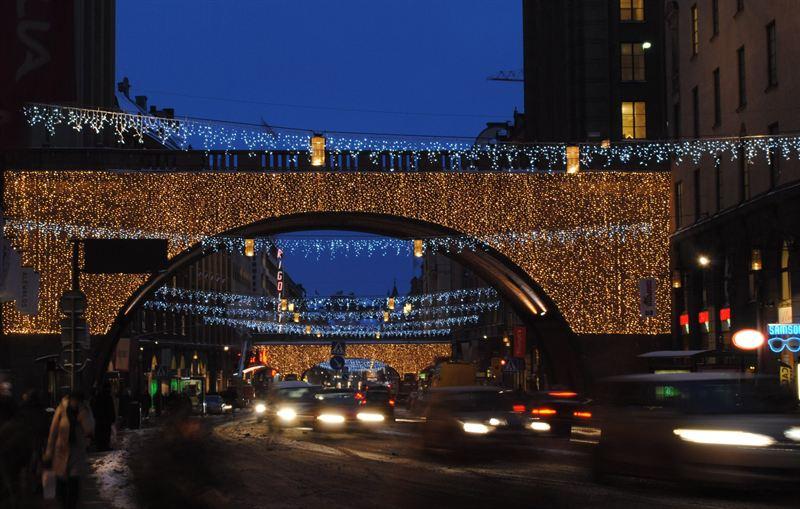 Julbelysning Kungsgatan 2012