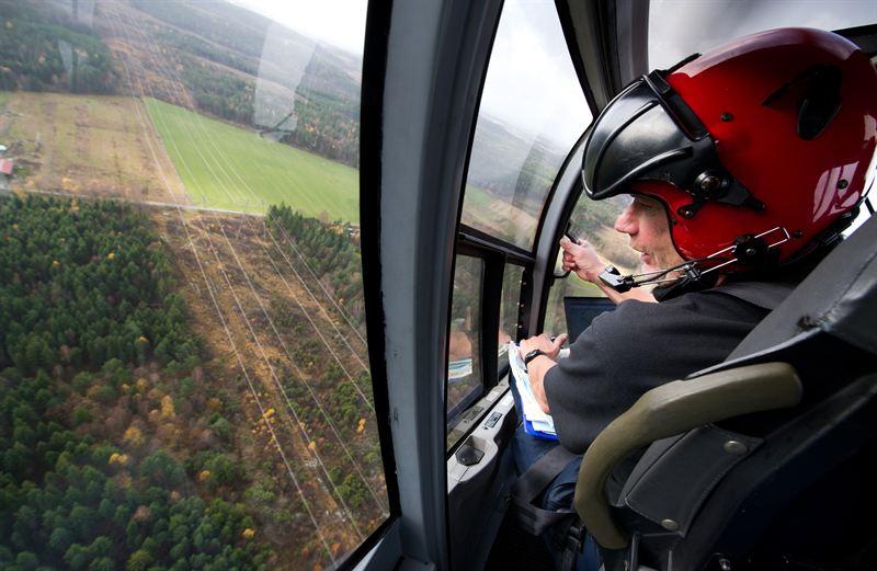 Helikopterbesiktning