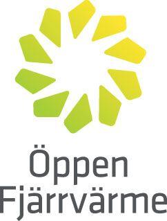 Öppen Fjärrvärme logotype