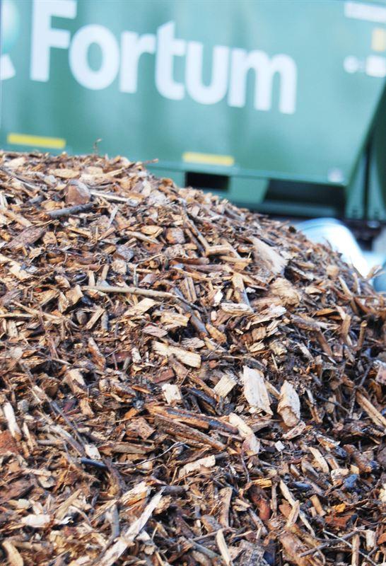 Fortum Värme biokraftvärmeverk ellok biobränsle