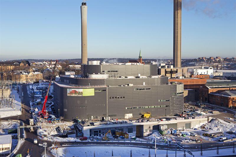 Fortum Värme biokraftvärmeverk 160120