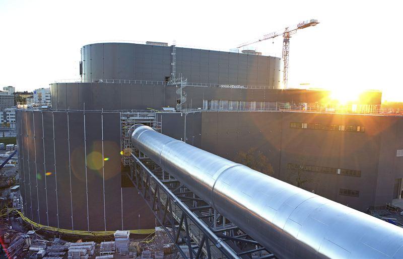 Fortum Varmes nya biokraftvarmeverk