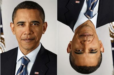 Obama normal and inverted