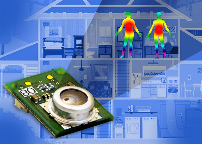 Omron Mems Thermal Sensors Detect Presence Without Motion