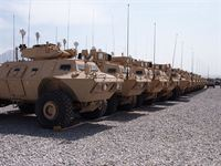 Mobile Strike Force Vehicles in Afghanistan