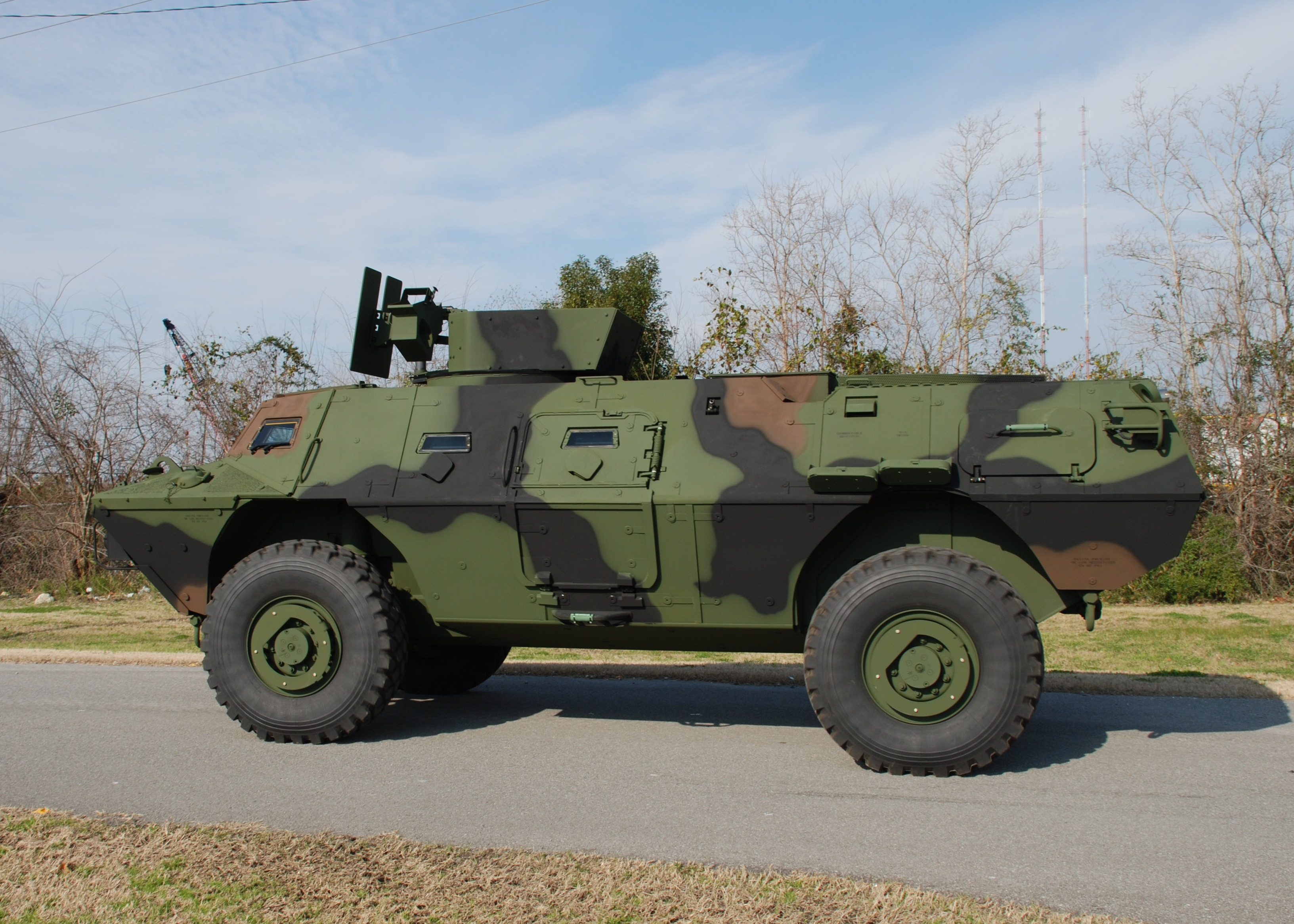 Colombian Army APC - Textron Systems