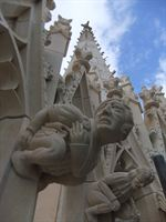 Award winning work on the East Front of York Minster