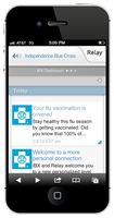 IBX Wire provides members with fast, secure, personalized information on their smartphones