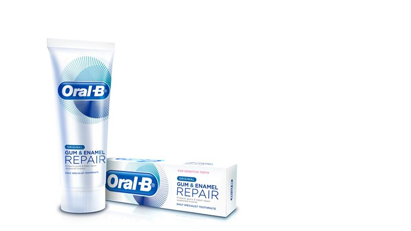 oral b tandkräm test