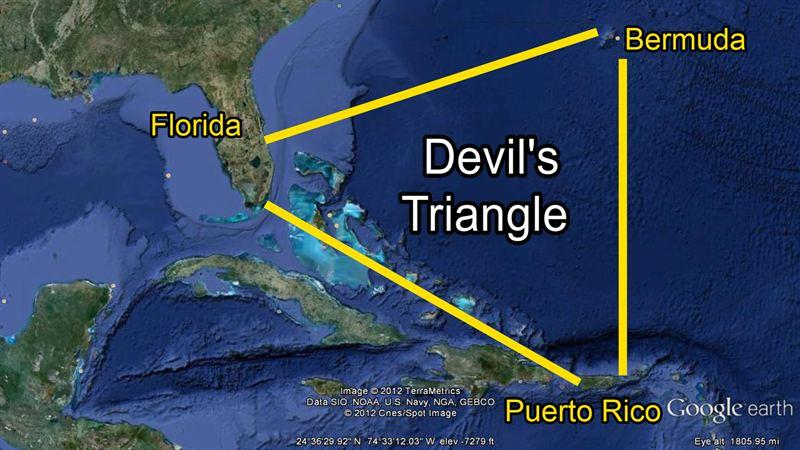 Bermuda Triangle Devil S Island