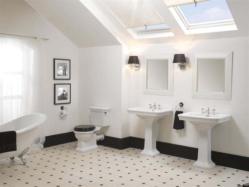 New bathroom space saving options the ideal design for Best boutique hotel bathrooms