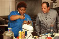 Krystal Battle and Chef Ralph Pagano