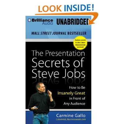 The Presentation Secrets of Steve Jobs, Audiobook, Brilliance Audio