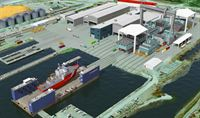 Vancouver Seaspan New Shipyard 2014